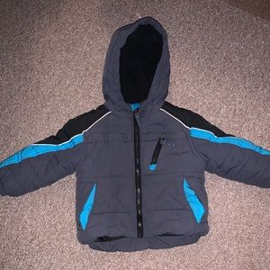 Toddler Boys Protection System Winter Coat